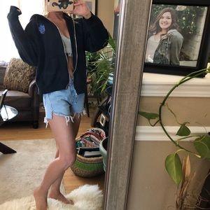 vintage harley davidson zip hoodie